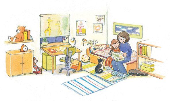 Bemühte Eltern: Eine Mutter lernt mit ihrer Tochter. Nicht immer wirkt sich die Elternhilfe positiv auf den Lernfortschritt aus.