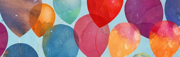 """Luftballons. Diese eignen sich für verschiedene Spiele - hier speziell für das Spiel """"Luftballons weitergeben""""."""