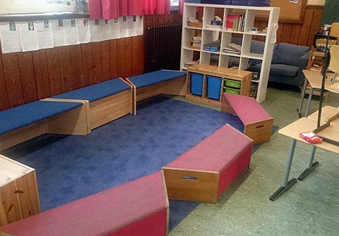 Ein Klassenraum mit vielen Möglichkeiten