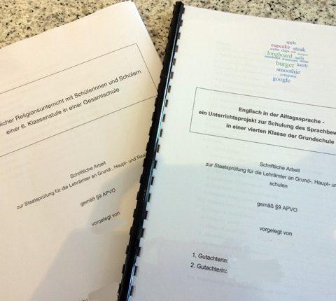 Mein Referendariat (7): Die schriftliche Arbeit