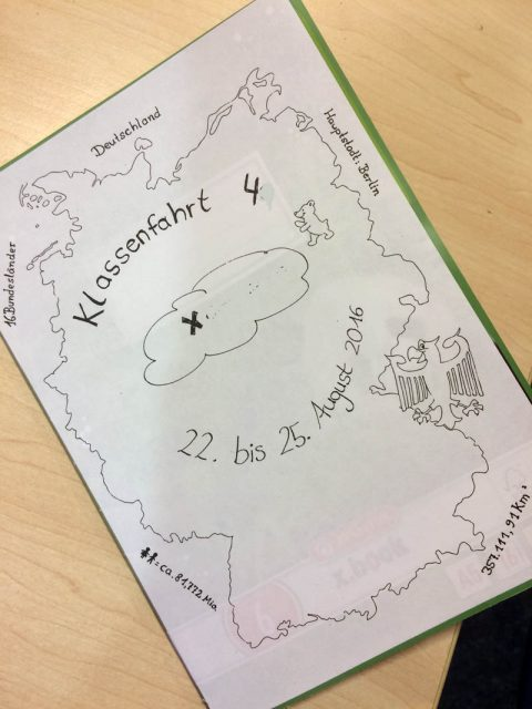 Das Reisetagebuch – eine Bereicherung für die Klassenfahrt
