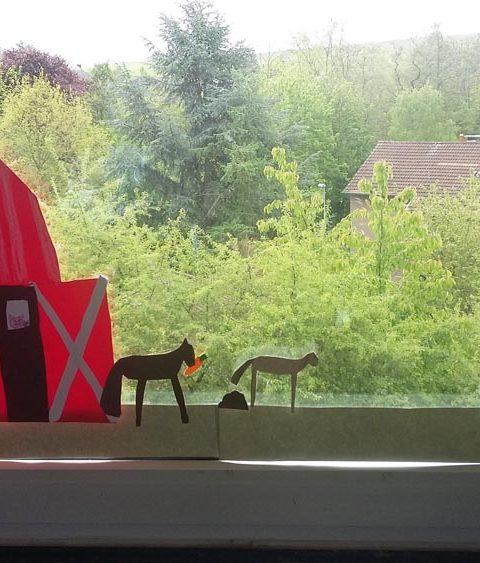 Landschafts-Fensterbilder