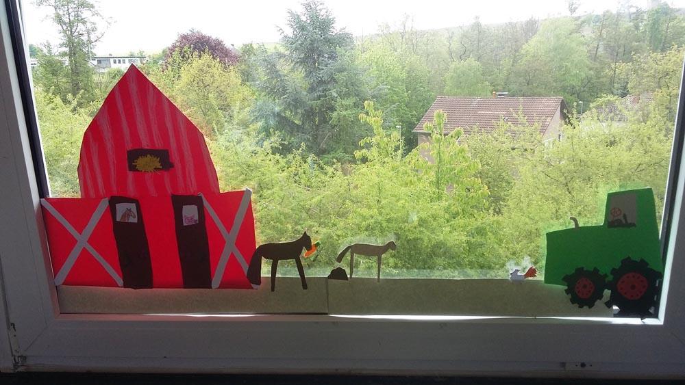 Landschafts Fensterbilder Grundschulschnuffler Blog