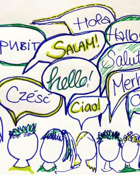 Meine DaZ-Sprachfördergruppe (1): Eine kleine Reise durch den Begriffsdschungel