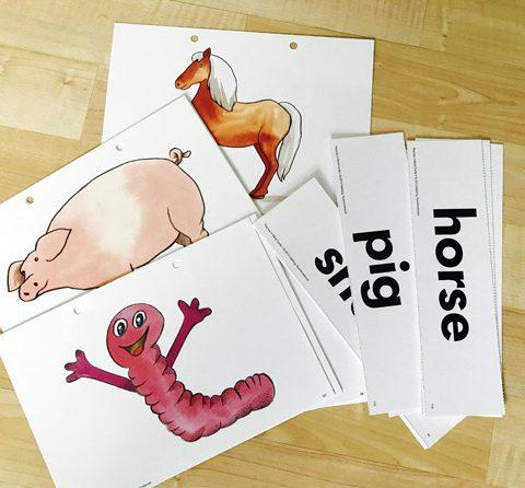 Einfache Spiele für den Englisch-Unterricht (4): Flashcard-Spiele