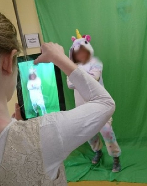Green-Screen im Unterricht